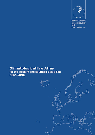 Titelbild der Publikation Climatological Ice Atlas for the western and southern Baltic Sea (1961 - 2010)