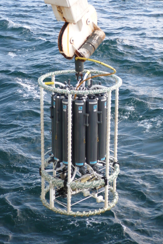 CTD (Conductivity, Temperature, Depth)