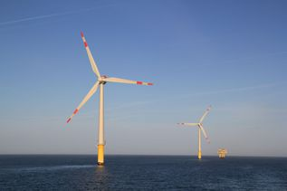 "Wind farm ""Alpha Ventus"""