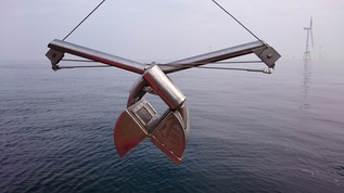 Van-Veen-grab for Benthos sampling