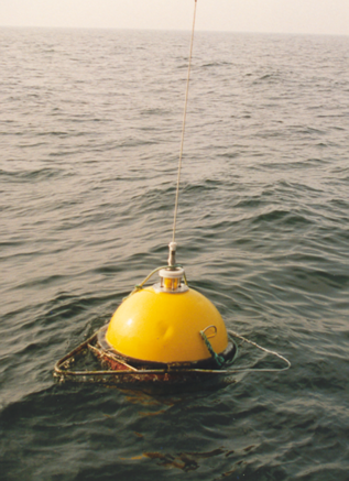 Buoy for measuring the sea state parameters