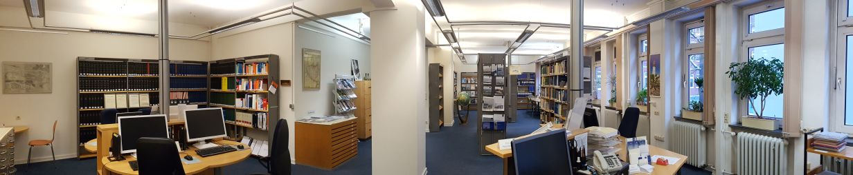 Panorama of the library