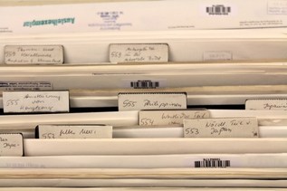 Storage of charts in the BSH's nautical chart archive